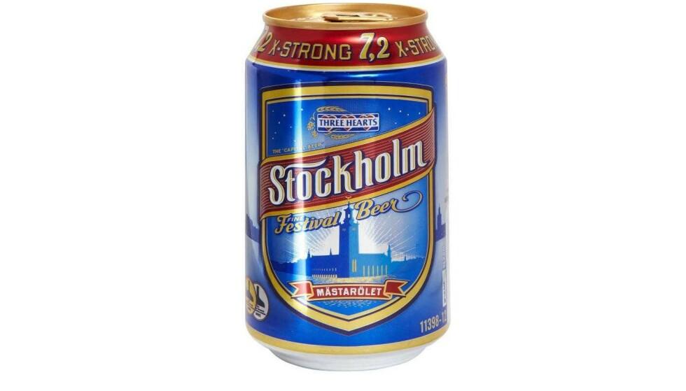 TILBAKEKALLES: En halv million bokser av denne typen øl er tilbakekalt i Sverige. Foto: Krönleins bryggeri