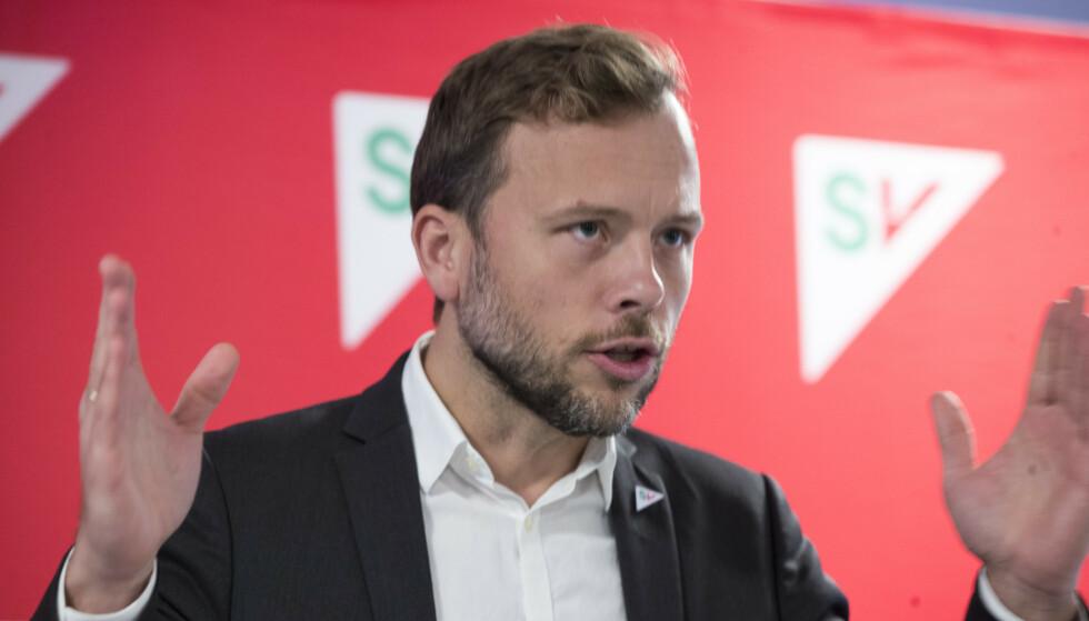<strong>- PROVOSERENDE:</strong> SV-leder Audun Lysbakken mener retningslinjene for nyansettelser i Espira er en provokasjon. Foto: Terje Pedersen / NTB scanpix