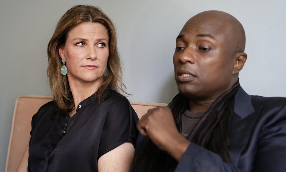 VOLDSOMME REAKSJONER: I et større intervju med The Times forteller Durek Verrett at han opplevd rasistiske bemerkninger i kjølvannet av all oppmerksomheten rundt ham og prinsesse Märtha Louise. Foto: Agnete Brun / Dagbladet