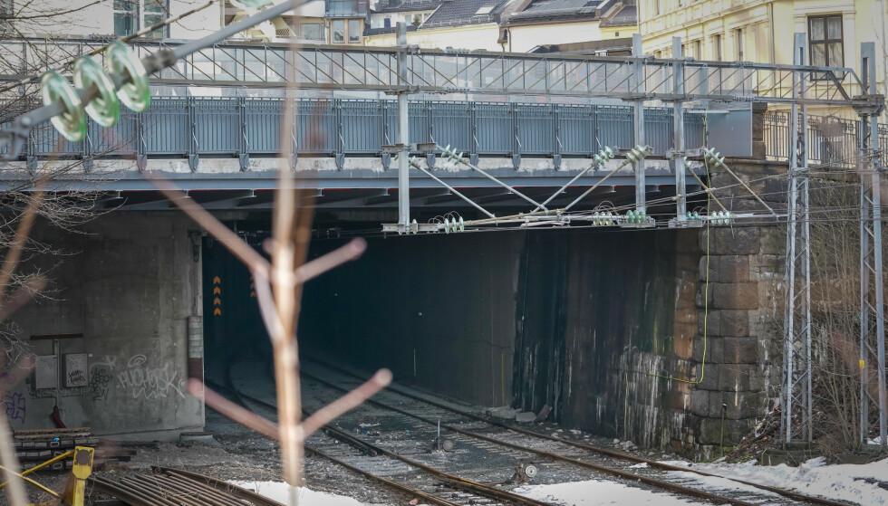 DØDSULYKKE: Even (15) omkom, mens to andre ungdommer ble kritisk skadd etter at de tok seg inn i en togtunnel ved Filipstad i Oslo og kom i kontakt med en strømførende kilde. Foto: Heiko Junge / NTB scanpix