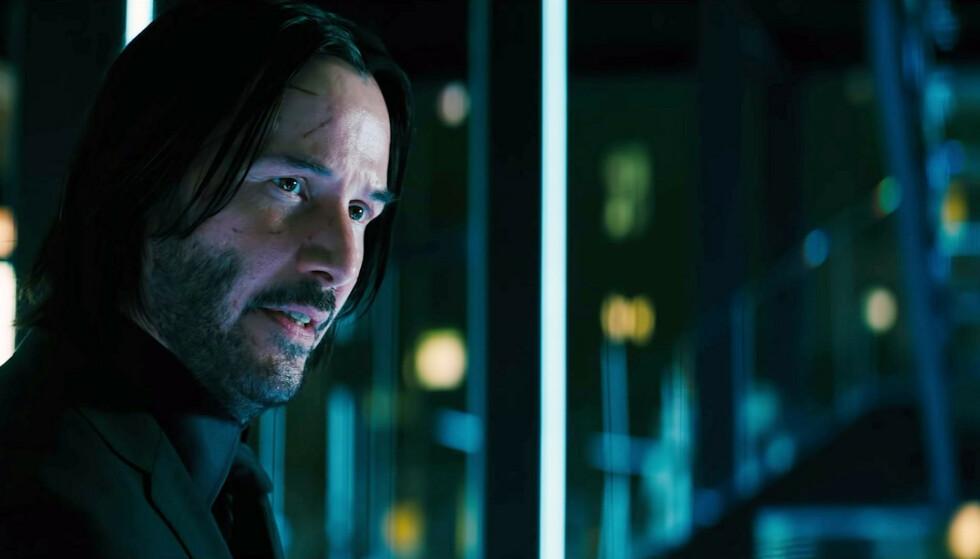 BRUTALE SAKER: I filmen John Wick: Chapter 3 - Parabellum, får skuespiller Keaun Reeves virkelig kjørt seg. Foto: NTB Scanpix.