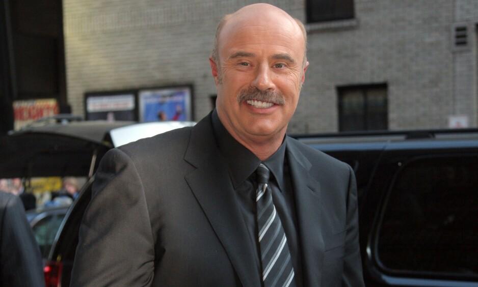 ANKLAGER: I løpet av sin 17 år lange tv-karriere, har mange anklaget Phil McGraw for å utnytte psykiske syke mennesker. Det bryr han seg sjelden om. Foto: NTB Scanpix