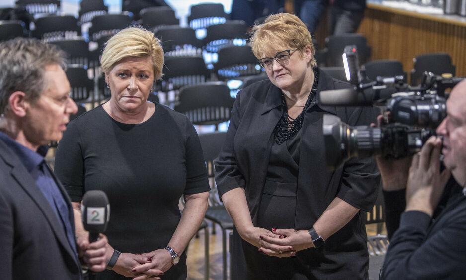 SUR STEMNING: Regjeringspartiene - særlig Frp og Venstre - har staket ut en kurs som kan føre til full kollisjon i bompengesaken. Foto: Ole Berg-Rusten / NTB Scanpix