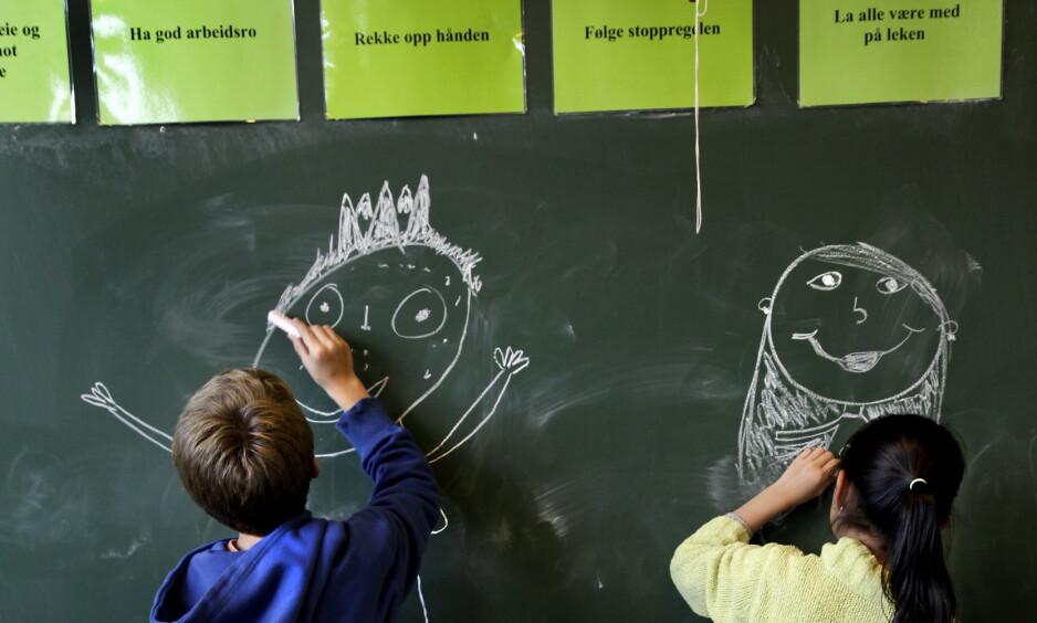 MORSMÅL: Ifølge læreplanene går det klart fram at elevene skal kunne bruke morsmålet sitt, de skal lære å lese på det språket de kan best, og de skal utvikle kunnskaper og skrivekompetanse på morsmål, skriver innsenderen. Foto: Geir Bølstad / Dagbladet