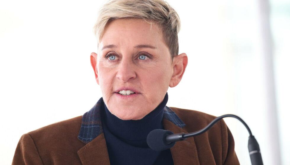 HEVDER HUN BLE MISBRUKT: I et nytt intervju forteller Ellen DeGeneres at hun skal ha blitt misbrukt som tenåring. Foto: NTB Scanpix