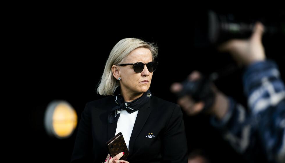 MÅ SPARE: Rosenborgs daglige leder Tove Moe Dyrhaug forteller at Rosenborg har brukt vel mye penger på a-stallen. Foto: Ole Martin Wold / NTB scanpix
