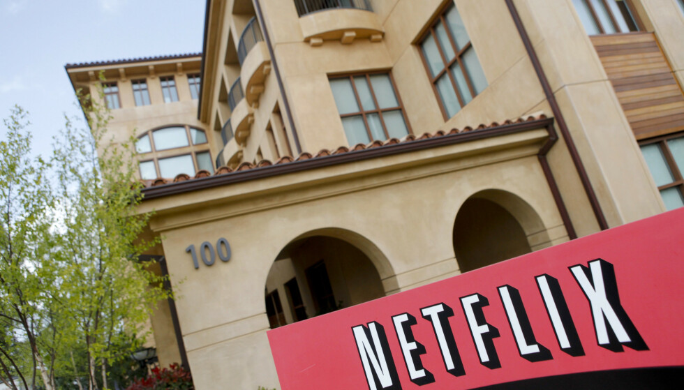 NETFLIX: Netflix sitt hovedkvarter i Los Angeles. (Illustrasjonsfoto) Foto: Ryan Anson / AFP
