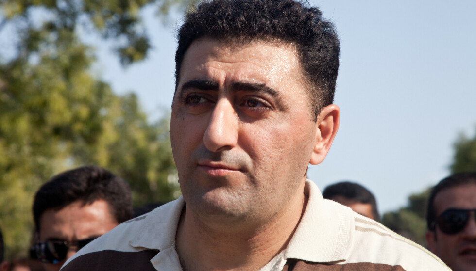 DØMT: Ramil Safarov ble dømt for drapet på en armensk soldat i Ungarn, men tilgitt av presidenten da han ble utlevert tilbake til hjemlandet etter åtte år i fengsel. Foto: NTB Scanpix