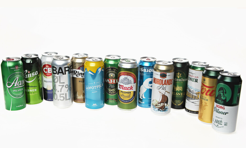 SOMMEREN ER I BOKS: Testvinner er en av Norges mest solgte. Hvilken øl er din favoritt?