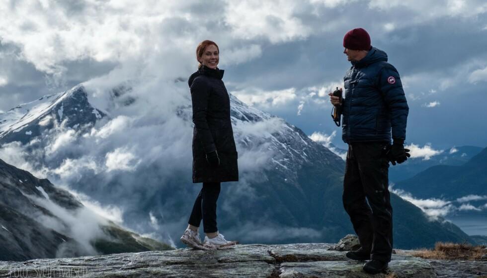 NØT UTSIKTEN: Marvel-teamet var imponert over naturen i området, forteller Ivarsen. Foto: Svein Ivarsen / Relevant Film