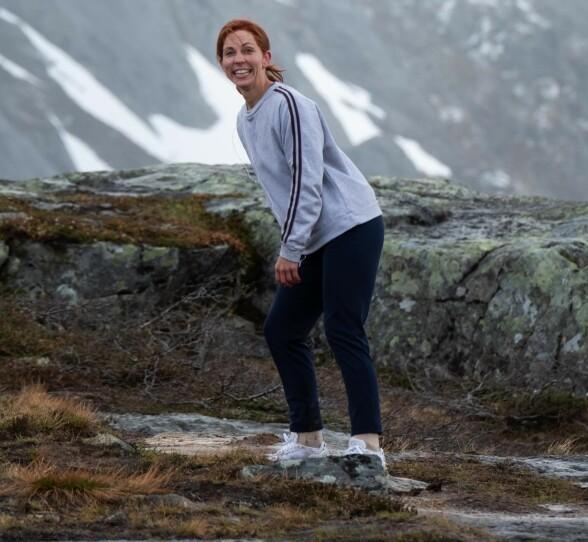 MORO PÅ JOBB: C.C. Ice spilte inn joggescener i Rauma. Foto: Svein Ivarsen / Relevant Film