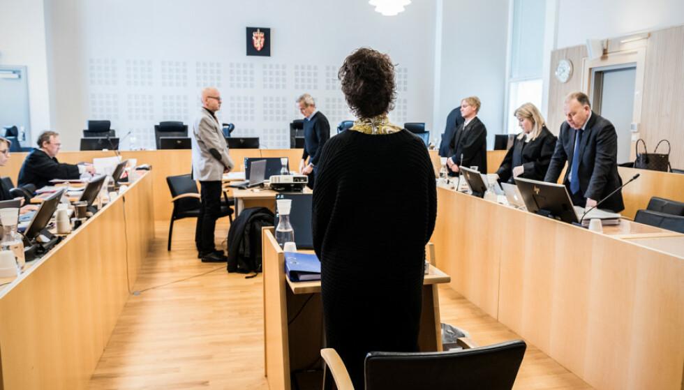 ENDRET STRATEGI: Mens 44-åringen avviste å forklare seg i tingretten, endret hun strategi i ankesaken, og satt flere dager i vitneboksen. Foto: Ralf Lofstad / Dagbladet