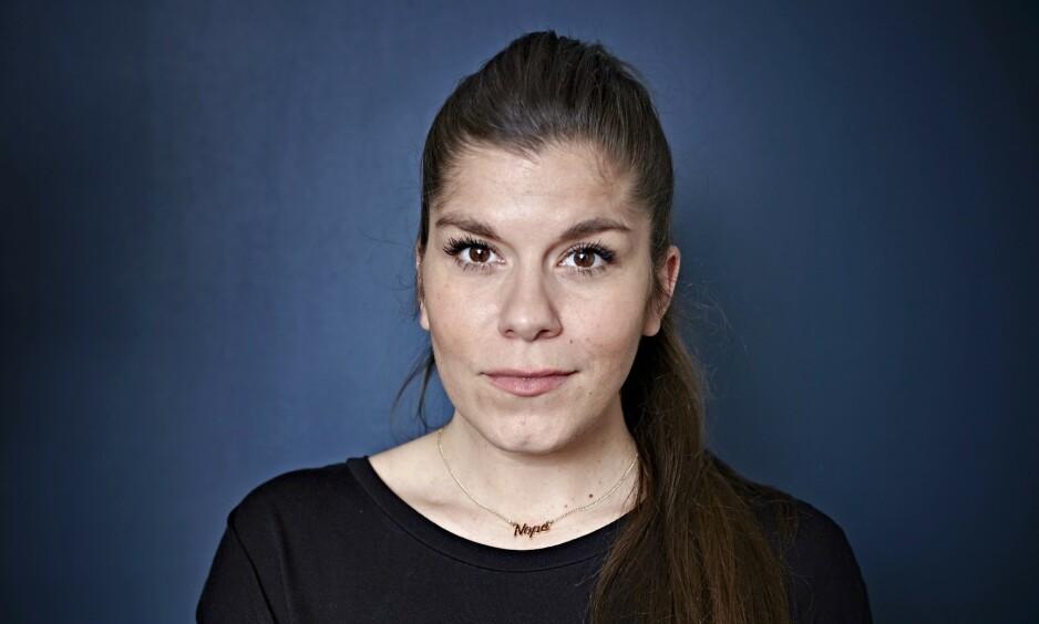 AKTUELL: Kristin Gjelsvik er en av Norges mest populære bloggere. Aktuell med serien «Kristin og Dennis. 1 + 1 = 3» på TV3. Foto: Geir Dokken