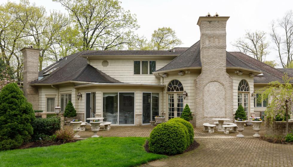 «MAFIAHUS»: Dette huset i New Jersey ble gjort kjent gjennom «The Sopranos» og ligger nå ute for salg. Foto: Stefano Ukmar / New York Times / NTB scanpix