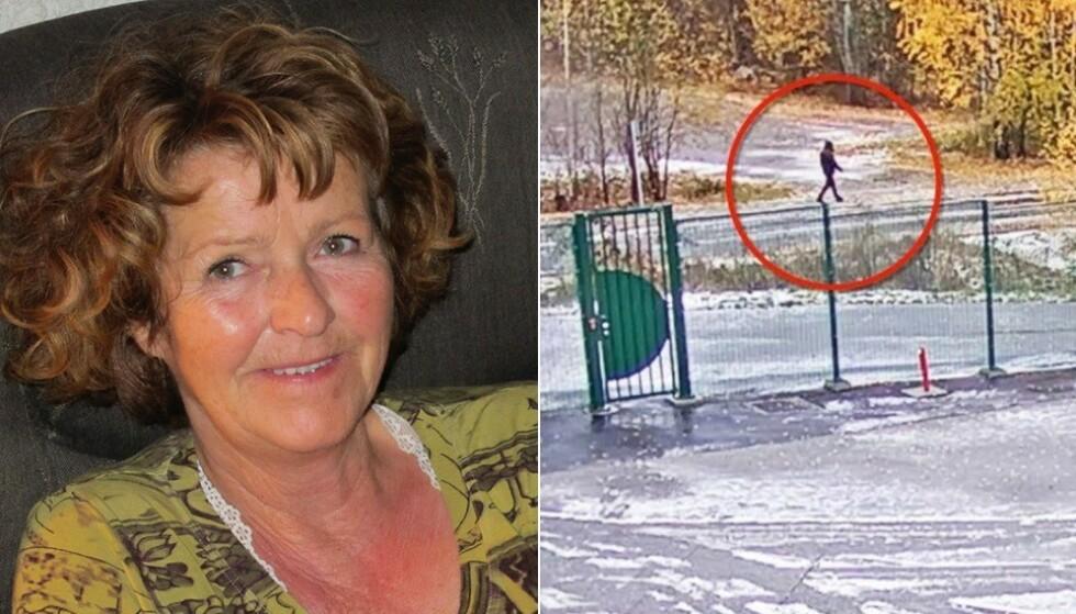 FUTURUM-BYGGET: Politiet har ikke klart å identifisere de to mennene som ble filmet utenfor arbeidsplassen til Anne-Elisabeth Hagens mann i Lørenskog. Foto: Privat/Politiet
