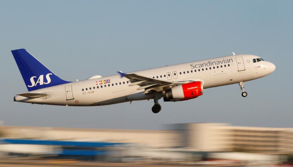 SAS: Flyselskapet SAS slutter med tax free-varer. Foto: REUTERS/Paul Hanna