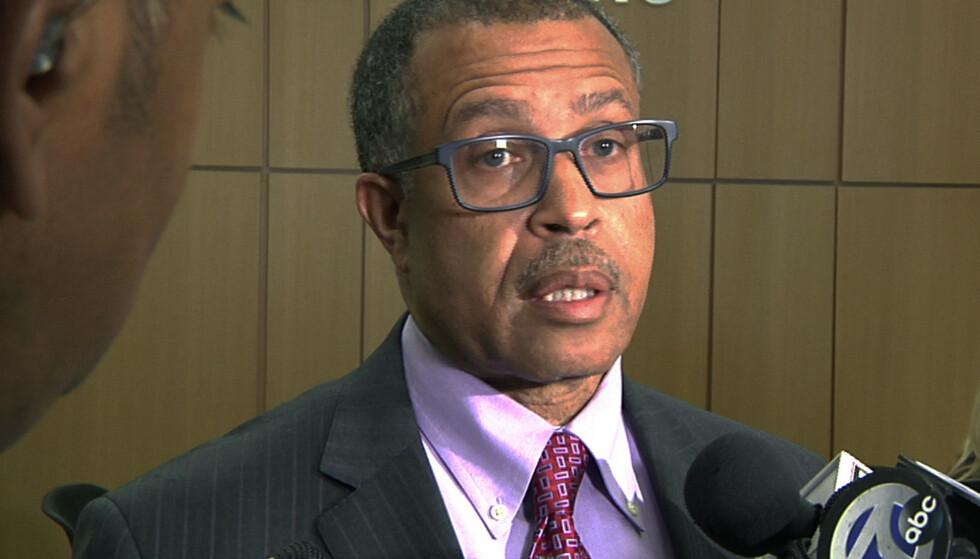 POLITIMESTER: James Craig sier politiet mener de står overfor en seriemorder på frifot i Detroit. Foto: AP / NTB Scanpix