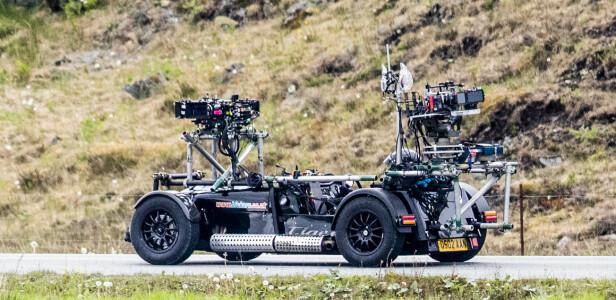 <strong>AVANSERT:</strong> En multikamerabil, utstyrt med åtte kameraer. Foto: Christian Roth Christensen / Dagbladet