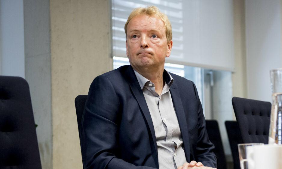 KLINSJ: Frp's Terje Halleland mener Klima- og miljøminister Ola Elvestuen nå går utover det regjeringspartiene har blitt enige om. Foto: Jon Olav Nesvold / NTB Scanpix