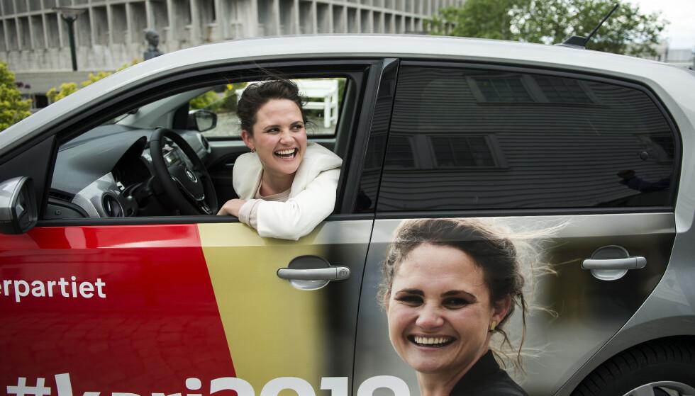 VIL TA STYRINGEN: Arbeiderpartiets ordførerkandidat i Stavanger Kari Nessa Nordtun er klar for full fart fram mot valget. Foto: Carina Johansen / Dagbladet