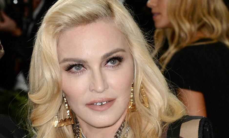 RASER: Sluttresultatet av hennes portrettintervju med New York Times Magazine får Madonna til å rase. Foto: NTB Scanpix