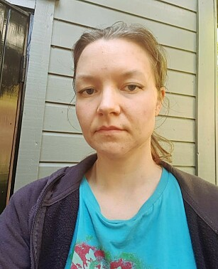 BLE SYK: Sissel Anita Hovland fra Askøy og resten av familien ble syke på tirsdag denne uka. Foto: Privat