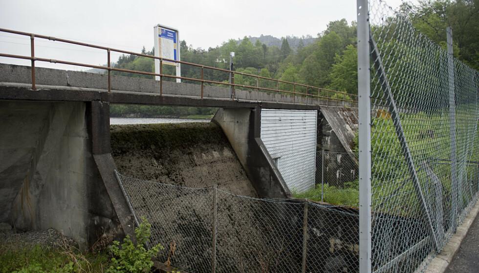 SYKE: Innbyggerne som har blitt syke, har fått drikkevann fra Kleppe vannverk på Askøy. Foto: Marit Hommedal/NTB Scanpix