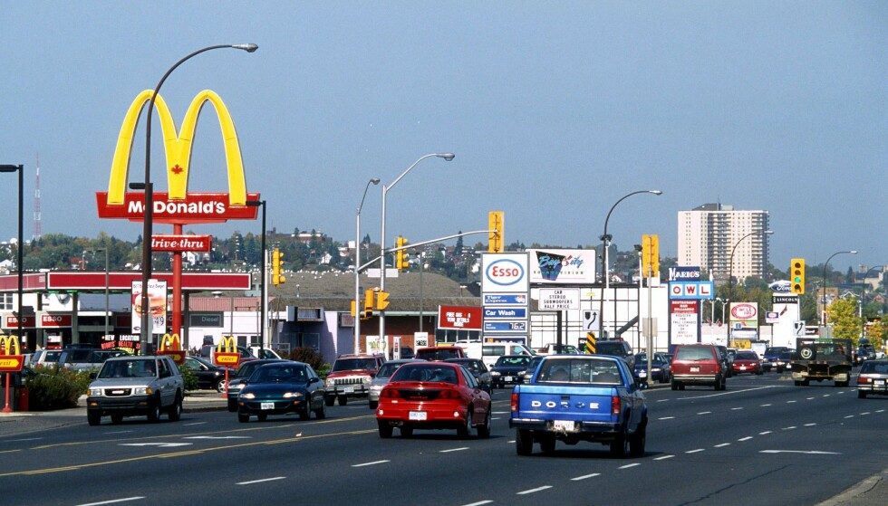 McDonalds: Flere restauranter i Ontario, Canada, lider av suksessen til Toronto Raptors. Foto: Rex Shutterstock