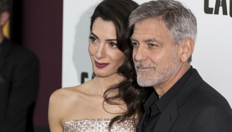 STJERNEPAR: Amal og George Clooney. Foto: Grant Pollard / INVISION
