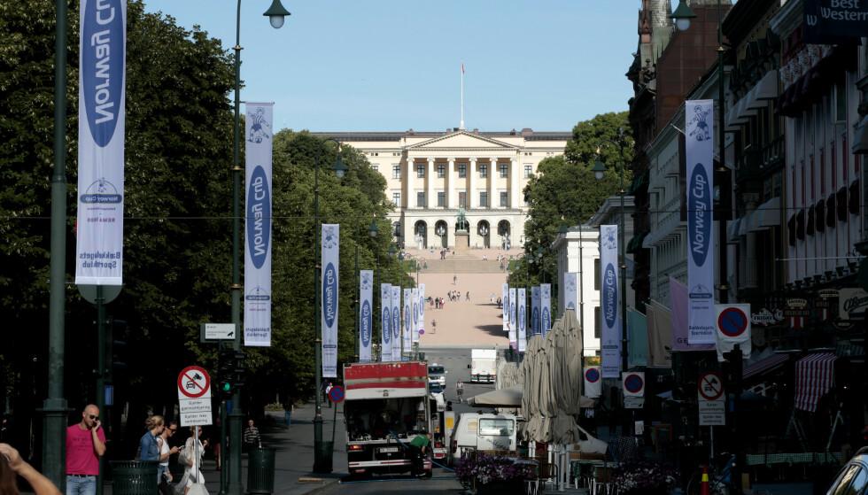 MINDRE PARKERING: MDG ønsker å fjerne flere parkeringsplasser i Oslo sentrum. Foto: Frits Solvang/Dk Images/REX
