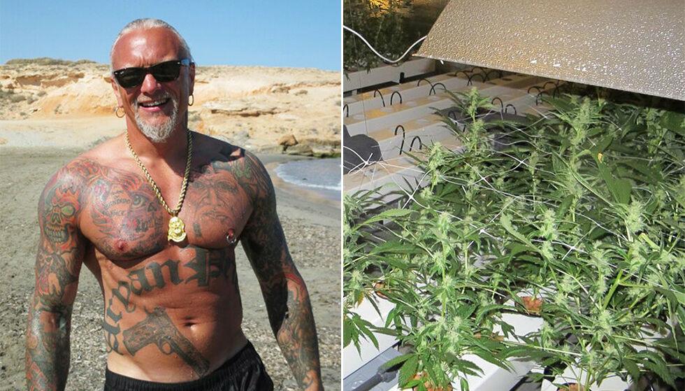 FRIKJENT: Lars Harnes var en av fire tiltalt i saken hvor politiet fant en cannabisplantasje i Fet. Foto: Privat / Politiet