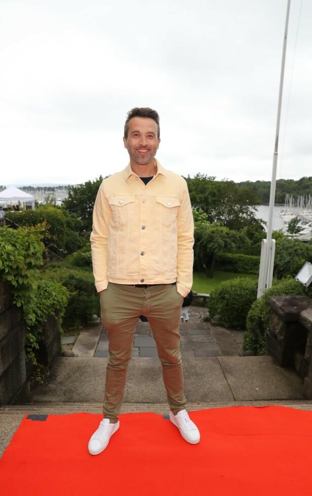 PÅ FESTEN: Peter Moi Bubresko, kjent fra «God Morgen Norge»- på TV 2, var tilstede på festen. Foto: Andreas Fadum / Se og Hør