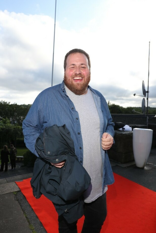 GLAD: NRK-profil Ronny Breede Aase. Foto: Andreas Fadum / Se og Hør