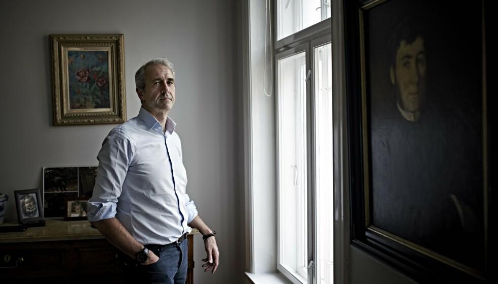 ENGASJEMENT: Engasjert, ikke hissig: Olaf Thommessen er fullt klar over at hans tidvis sterke engasjement kan misforståes. Foto: Geir Dokken