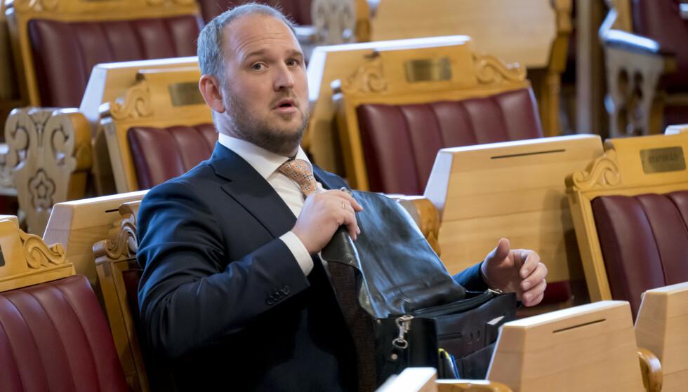NY ROLLE: Tidligere samferdselsminister Jon Georg Dale (Frp) er blitt partiets klima- og energipolitiske talsmann på Stortinget. Foto: Cornelius Poppe / NTB scanpix