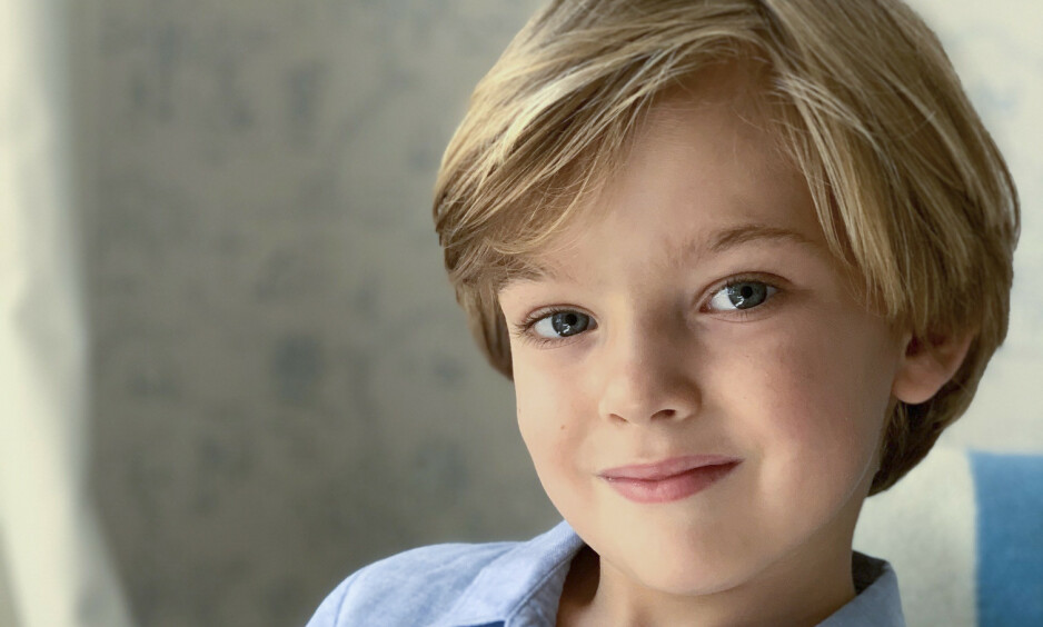 BURSDAGSBARN: Prins Nicolas fyller fire år lørdag 15. juni. Foto: Kungahuset / Prinsesse Madeleine
