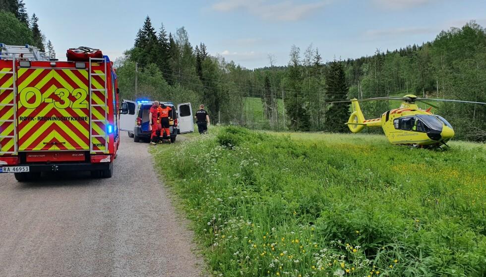 ULYKKE: Lørdag kveld har det vært en drukningsulykke ved Mariholtet i Oslo. Foto: Tipser.