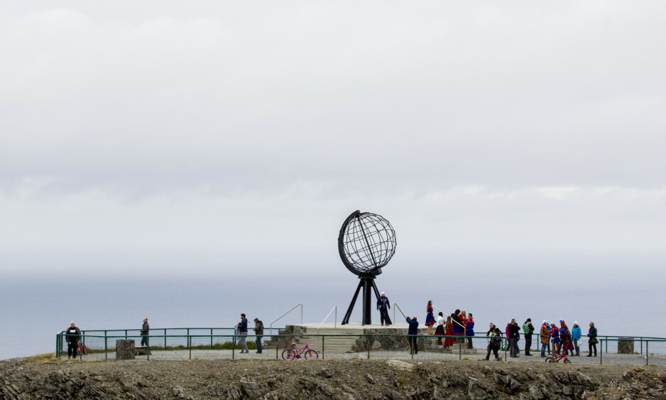 POPULÆRT: Nordkapplatået er en meget populær turistattraksjon. Direktøren for Scandic Hotels AS utdyper i dette innlegget avtalen mellom hotellkjeden og kommunen. Foto: Vegard Wivestad Grøtt / NTB Scanpix