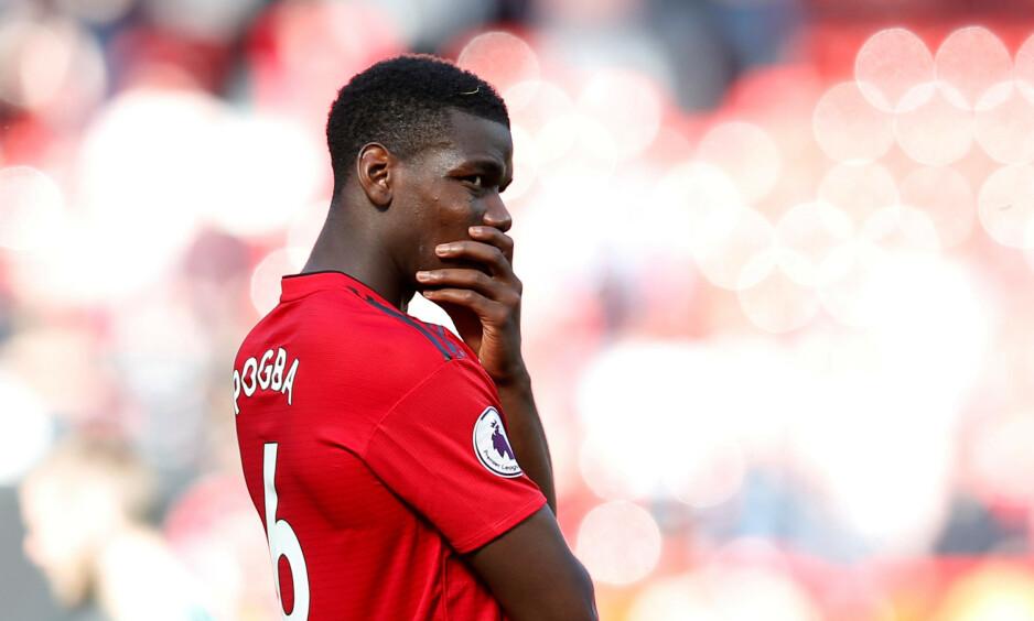 VIL BORT: Paul Pogba er klar for nye utfordringer et annet sted. Foto: REUTERS/Andrew Yates