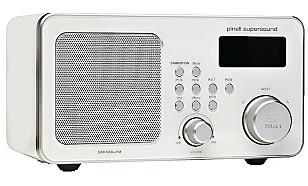 KJENT FOR SIN GODE LYD: Denne radioen er både fin å se på og full av nyttige funksjoner.