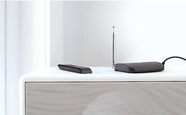 Tiny M8+ er en smart adapter som lar deg enkelt ta imot både FM- og DAB+-signal til ditt eksisterende anlegg.