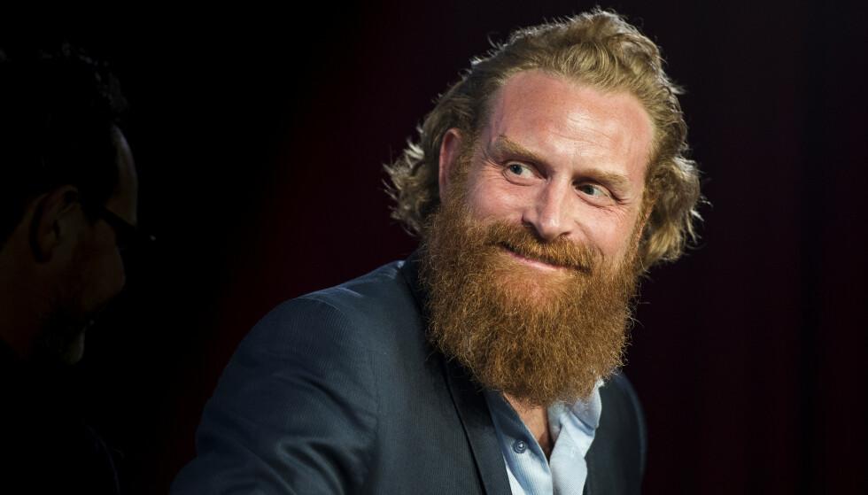 KRISTOFER HIVJU: Skuespiller Kristofer Hivju blir å se på NRK fra høsten av - i dramaserien «Twin». Foto: Carina Johansen / Dagbladet