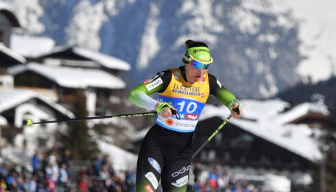 EKSPLOSIV: Eva Urevc viste i vinter fartsressurser som svært få andre langrennsløpere er i besittelse av. Men neste år vil hun ikke bli å se på startstrek. Foto: NTB Scanpix