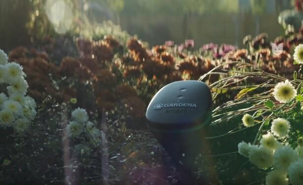 <strong>SIER FRA NÅR VANNING TRENGS:</strong> Gardena hagesensor hjelper deg til å ha kontroll over hagen via mobilen.
