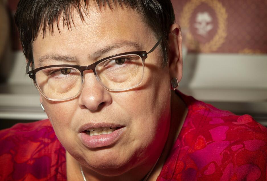 IKKE FORNØYD: Trondheim-ordfører Rita Ottervik synes tvangsutsendingen av Abbasi-familien var hjerterå, og ønsker at menneskelige hensyn skal veie mer i asylsaker. Foto: Hans Arne Vedlog / Dagbladet