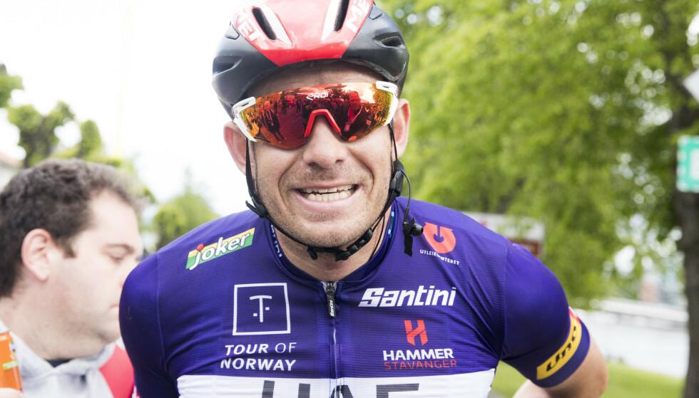 SJETTEPLASS: Alexander Kristoff ble nummer seks på onsdagens etappe av Sveits rundt. Foto: Terje Pedersen / NTB scanpix