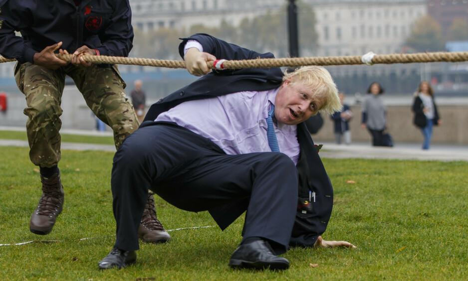 <strong>FAVORITT:</strong> Boris Johnson er favoritt til ledervervet i Tory-partiet. Foto: Rex shutterstock / NTB scanpix