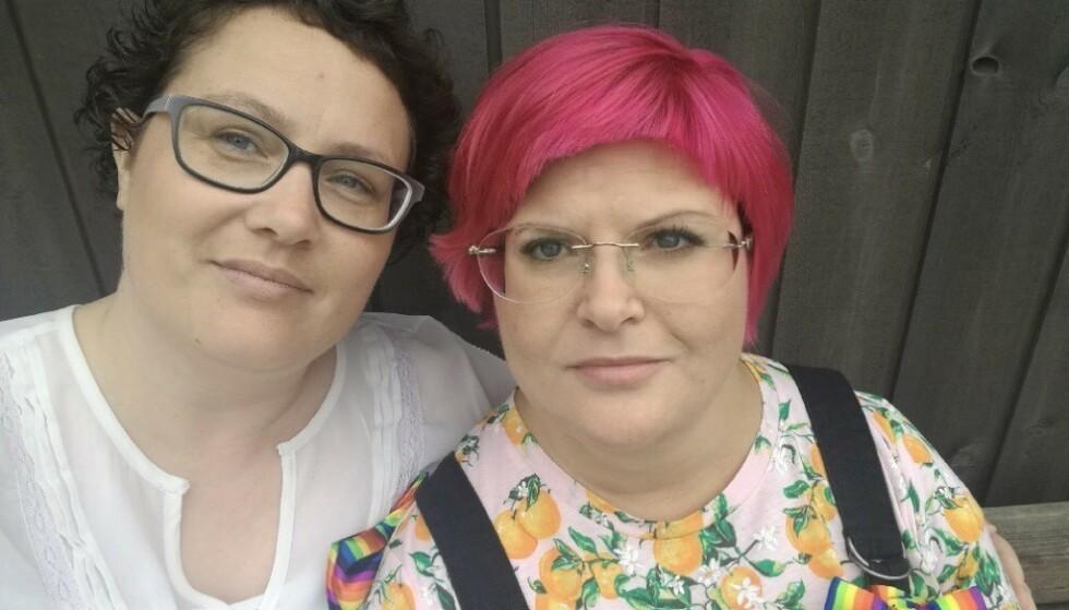 SETTER PRIS PÅ STØTTEN: Ekteparet Gunhild Olaugsdatter Drage og Wanya Valkyrie Drage. Foto: Privat
