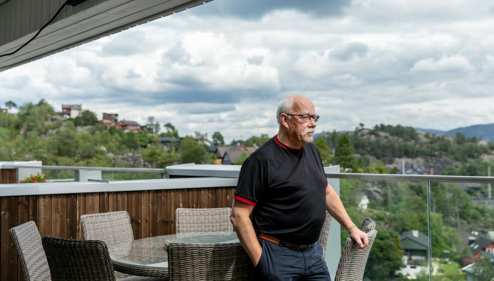 VIPPET: Kurt Johnny Hæggernæs fra Askøy er Arbeiderparti-utbryteren som avbrøt en ferie i Spania og sørget for å vippe flertallet slik at kommunestyret med en stemmes overvekt avviklet eiendomsskatten for 2019. Foto: Eivind Senneset, Dagbladet