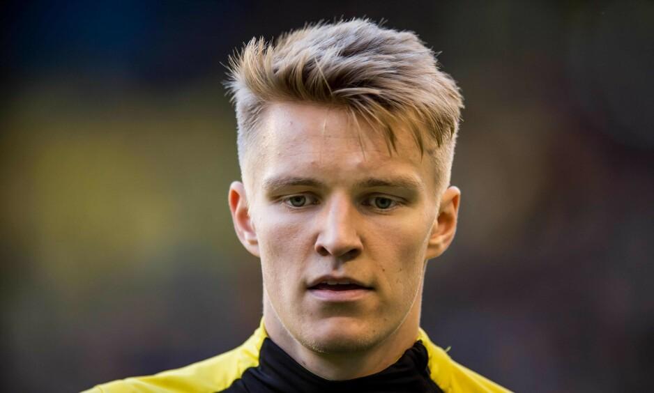 TIL TYSKLAND?: Martin Ødegaard har spilt sin siste kamp for Vitesse. Nordmannen er aktuell for tysk fotball og er nå i landet sammen med sin agent Bjørn Tore Kvarme. Foto: Lars SMOOK / ANP / AFP/NTB scanpix